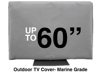 FREE SHIPPING Great Reviews BEST OUTDOOR TV COVERS Remote Pocket WATER RESISTANT Warranty SCREEN GUARD