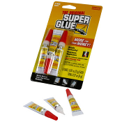 SAVE 50%+! YOU ALWAYS need .. the Original Super Glue, bonds instantly. Great for use on metal, plastic, rubber, jewelry, ceramics, fingernails & more! Self-piercing tubes ! ORDER TODAY!